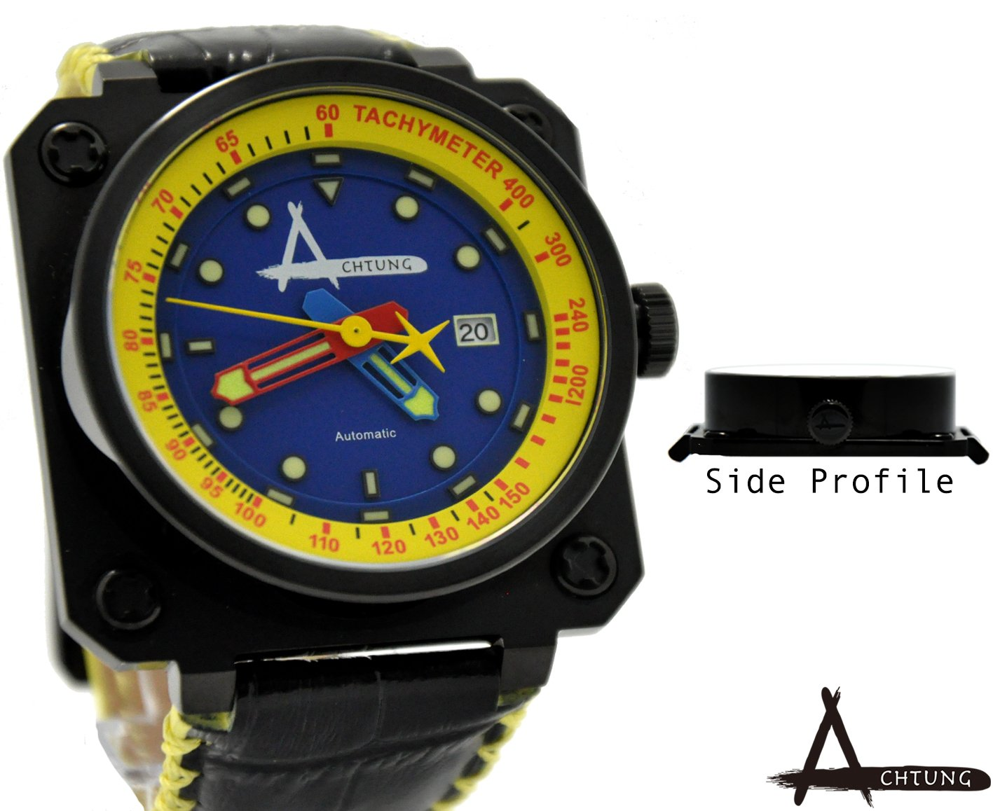 Achtung Classic Series/ Black And Yellow