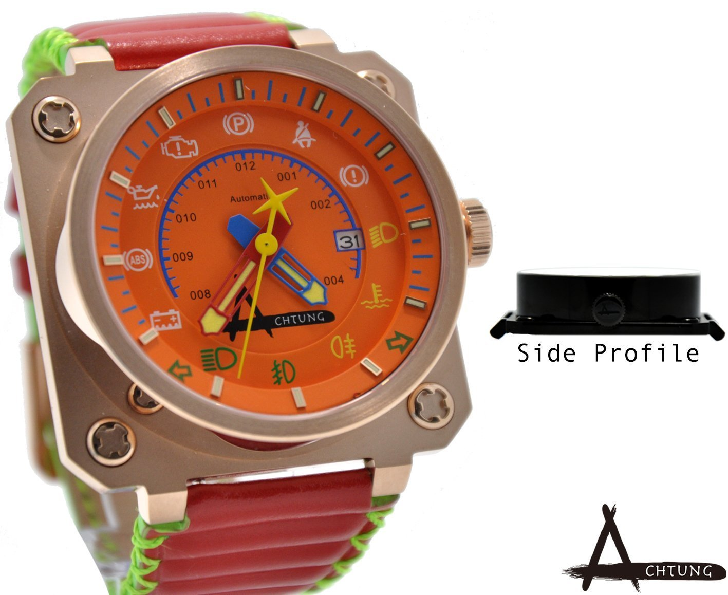 Achtung Speedo Series/ Rose Gold And Orange