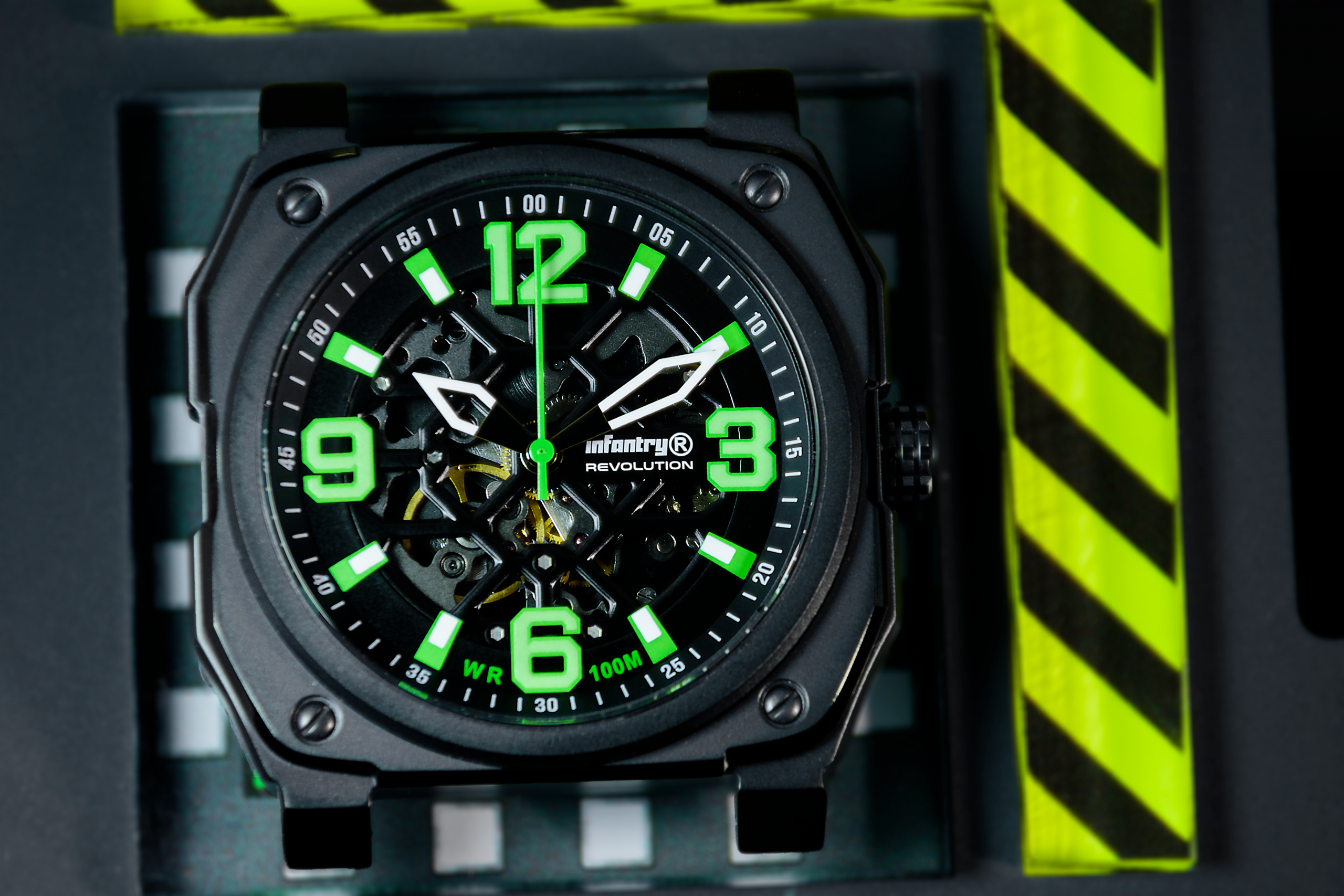 Infantry Revolution Skeleton Series / Lambo Green