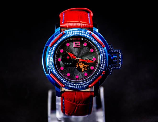 Nitron Electric Dream With Swarovski/ Red