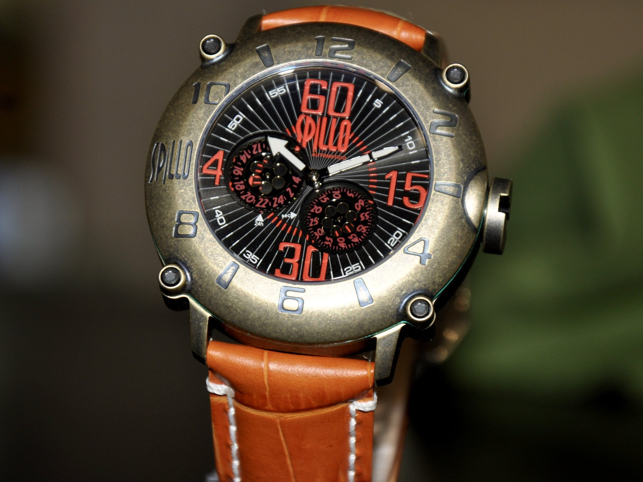 Spillo Outlaw/ Bronze And Red