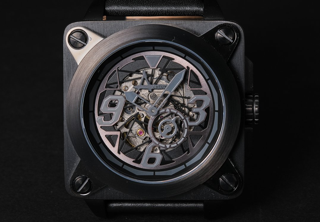Achtung Skeleton / Steel Black