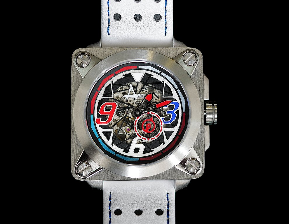 Achtung Skeleton Stainless Steel Thailand Limited Edition