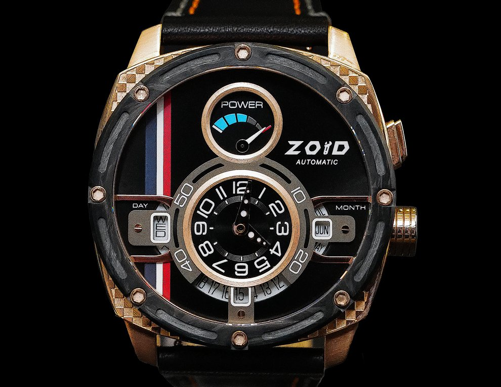 Zoid Power Rose Gold / Black Thailand Limited Edition